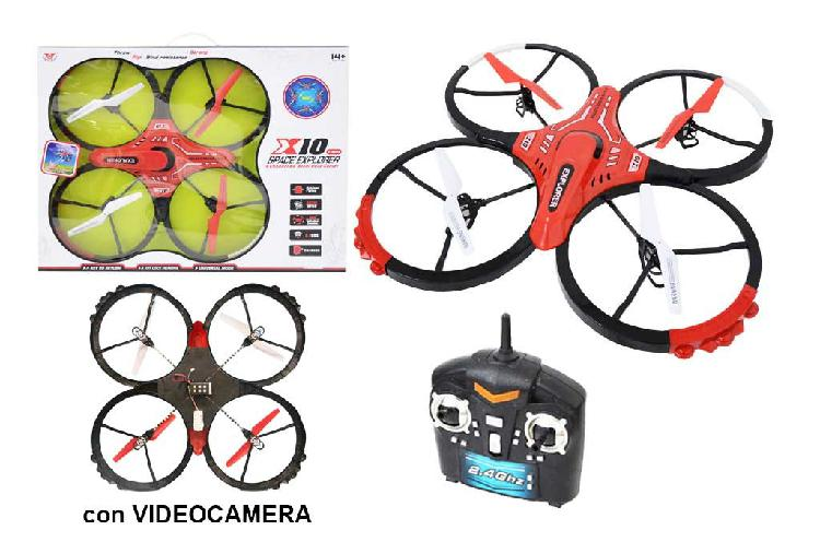 Drone radiocomandato space explorer - mazzeo giocattoli