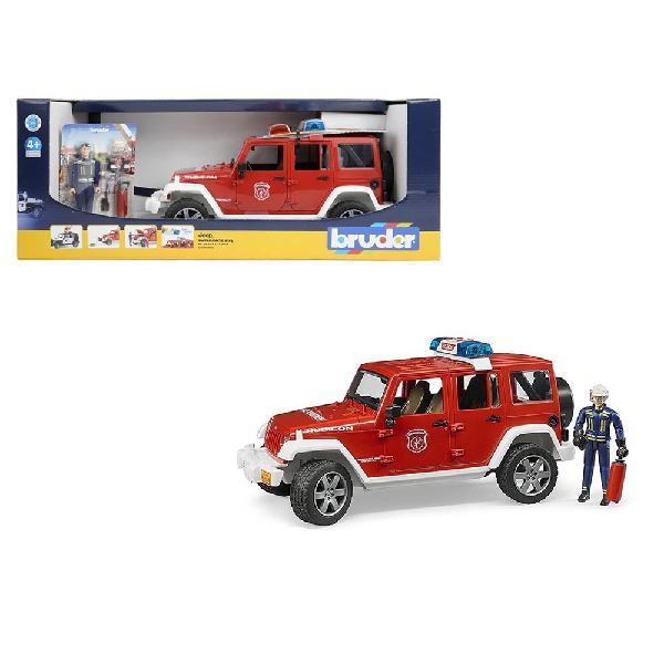 Jeep rubicon vigili del fuoco - bruder