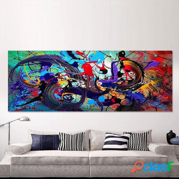 Abstract colorful tela hanging paintings home decor wall art