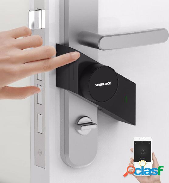 Smart bastone serratura s app intelligent serratura sblocco antifurto serratura porta di controllo remoto serratura