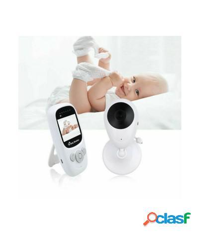 Baby monitor wireless display e doppio audio