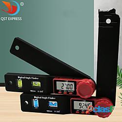 Righello angolare digitale goniometro angolo finder inclinometro in acciaio inox goniometro strumento elettronico di misurazione dell'angolo miniinthebox