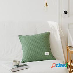 Fodera per cuscino in stile giapponese semplice in tinta unita fodera per cuscino soggiorno camera da letto fodera per cuscino moderna fodera per cuscino camera campione miniinthebox