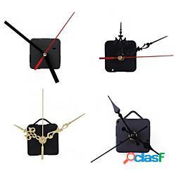 2 pezzi meccanismo di movimento dell'orologio al quarzo silenzioso grande orologio da parete lancette dell'orologio strumento di riparazione kit di parti set accessori per la casa fai da te m
