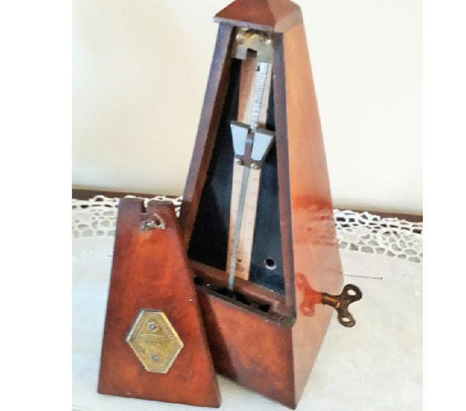 """Antico metronomo """"maelzel"""". in legno, d'epoca lodi - collezionismo in vendita"""