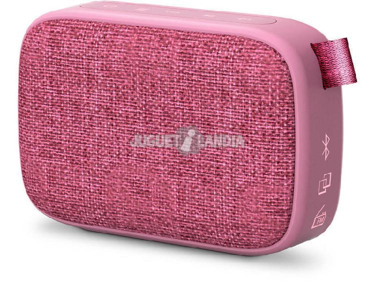 Altoparlante portatile fabric box 1+ pocket grape energy