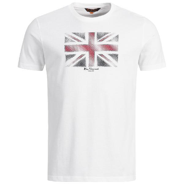 Ben sherman union jack t-shirt uomo t-shirt 0058442-010