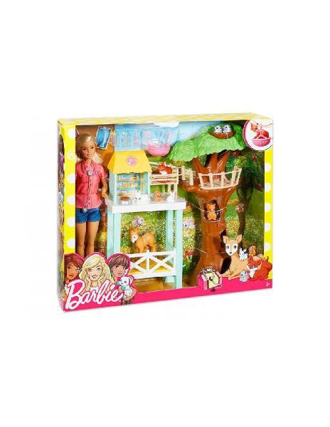 Barbie centro soccorso animali mattel mattel