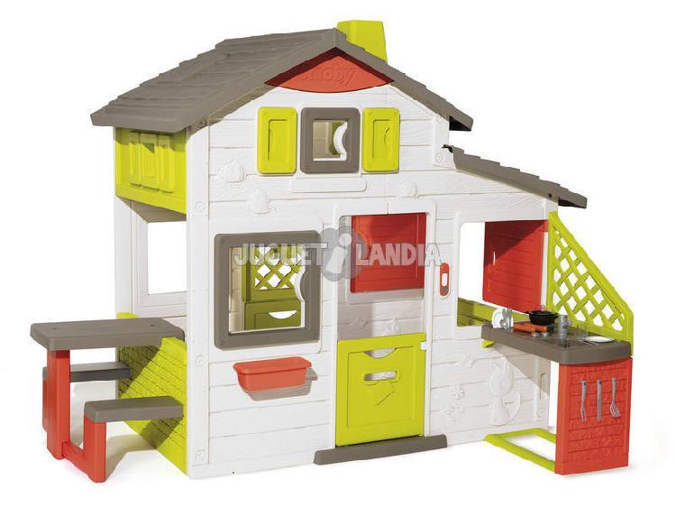 Casa neo friends house con cucina smoby 810202