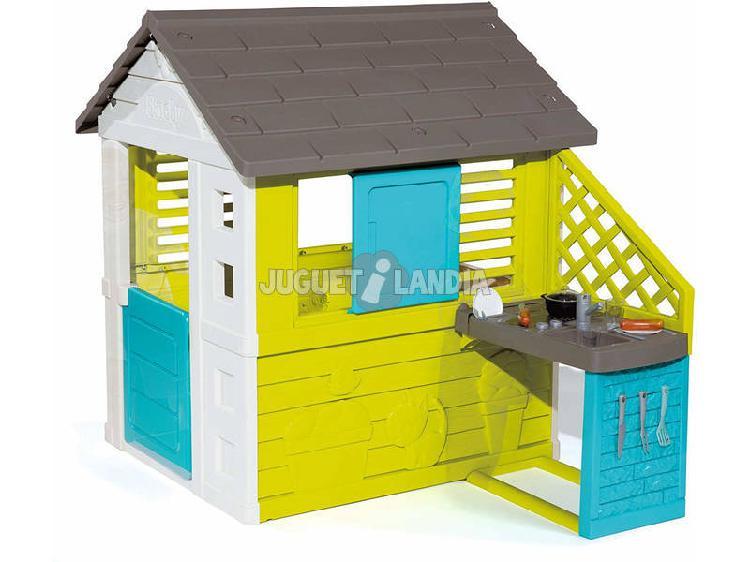 Casa pretty ii con cucina e accessori smoby 810711