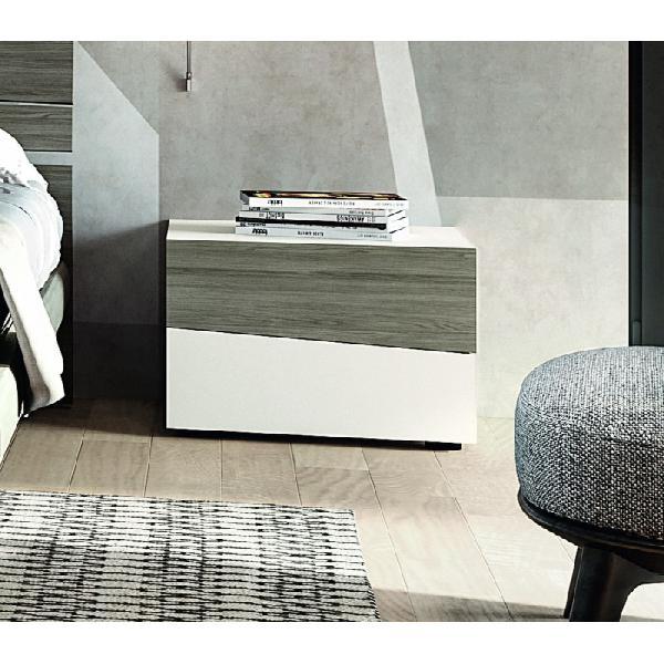 Comodino moderno ambra, santa lucia mobili