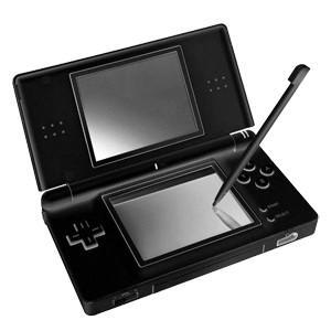 Console nintendo ds lite nera (usata) + custodia + gioco