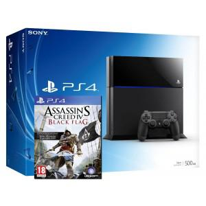 Console playstation 4 + assassin's creed 4 (ps4)
