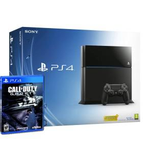 Console playstation 4 + cod ghosts (ps4)