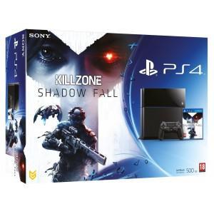 Console playstation 4 + killzone shadow fall (ps4)