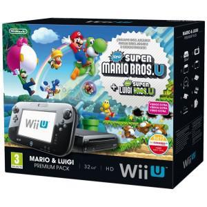 Console Wii U 32gb Mario E Luigi Premium Pack