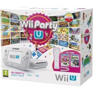Console wii u 8 gb - wii party u basic pack