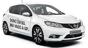 Installazione impianti GPL su autovetture diesel