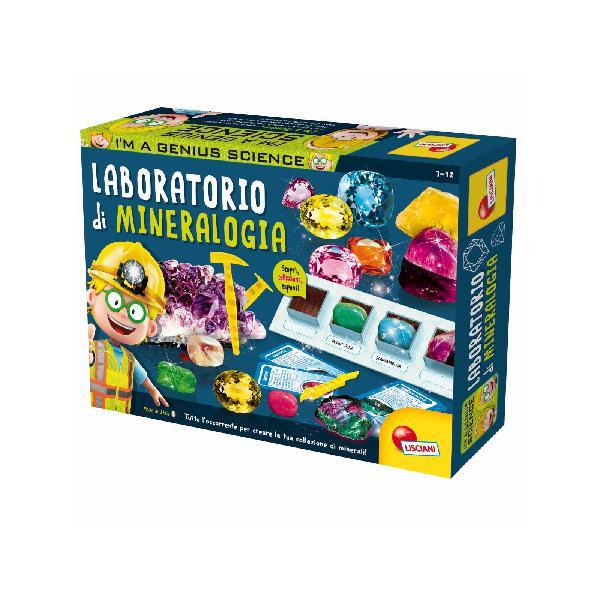 Lisciani - i'm a genius laboratorio di mineralogia - toys