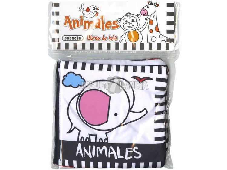 Libri in tessuto animali susaeta s3427001