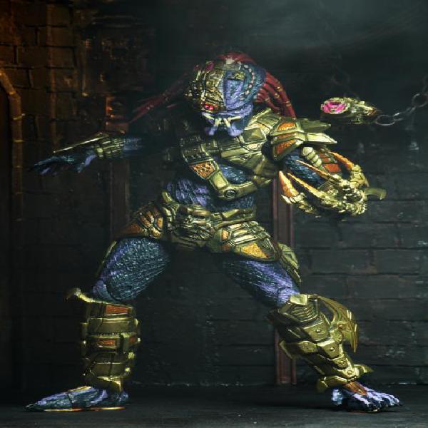 NECA Predator Ultimate Lasershot Predator 21 cm Action