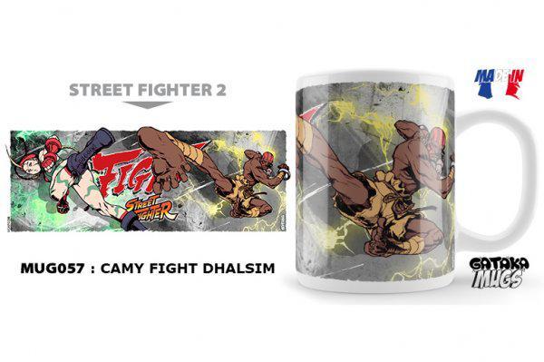 NEKOWEAR - Street Fighter - CAMY FIGHT DHALSIM Mug Tazza