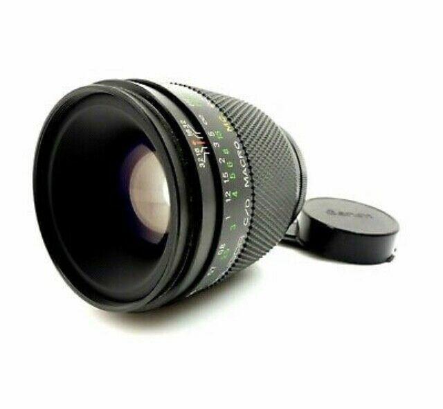 Obiettivo 90mm f2.5 macro soligor attacco canon fd/rf