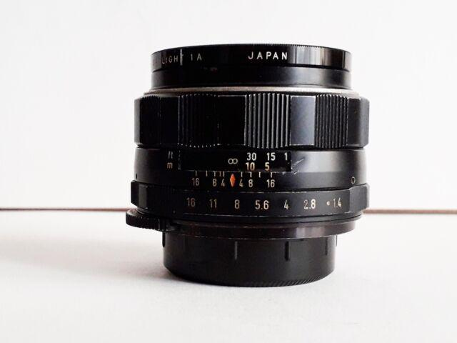 Obiettivo Pentax 1,4/50mm vite