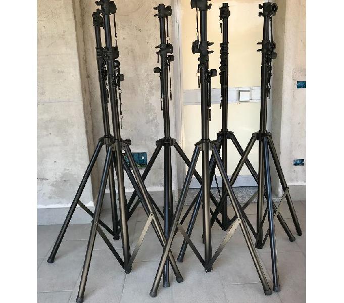 Supporti telescopici luci, americana, audio endine gaiano - strumenti musicali in vendita