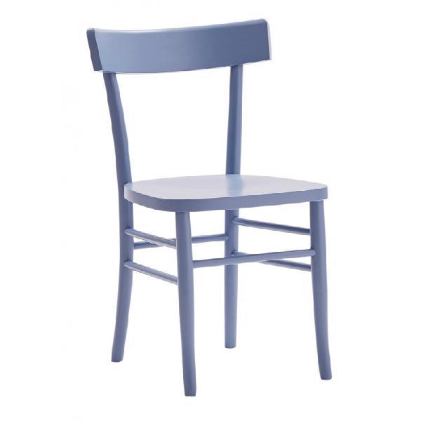 Sedia in legno in diversi colori, migliore qualità su