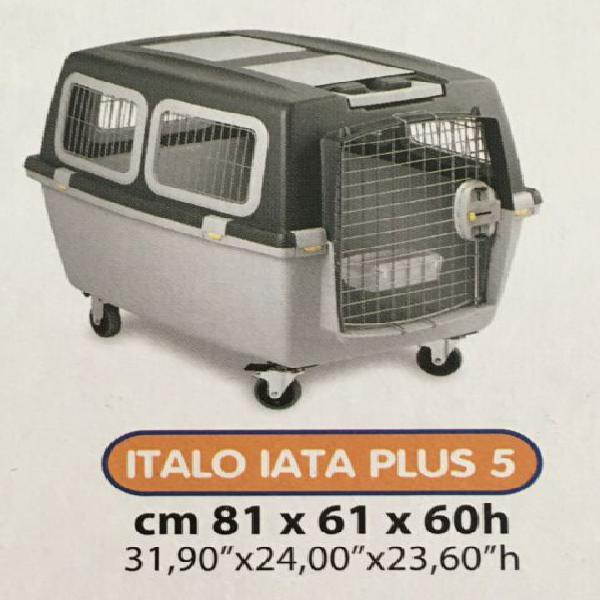 Trasportino per animali mai usato. iata. con ruote