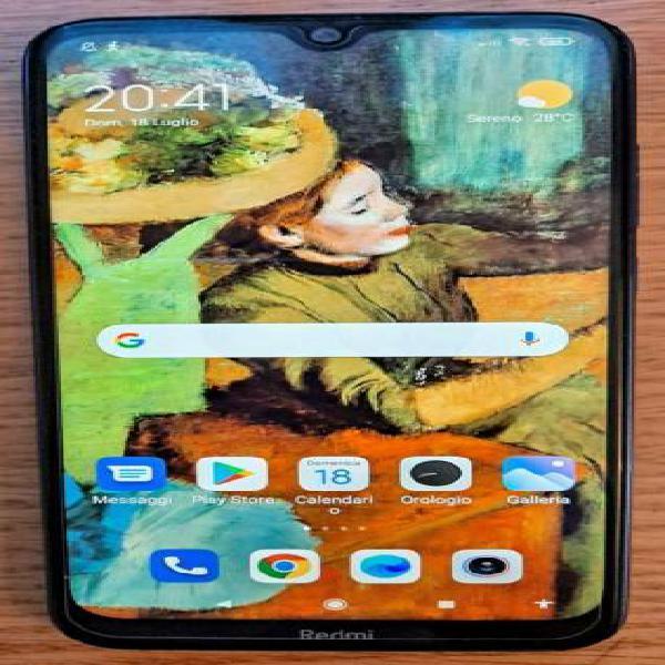Xiaomi redmi note 8t blu