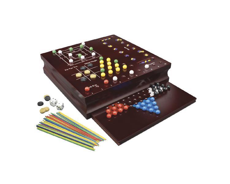 Zig zag 10 giochi in legno - zig zag - toys center