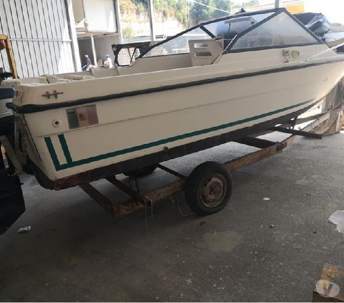 Barca cranchi 6 cv70 yamaha cabin bacoli - barche usate occasione