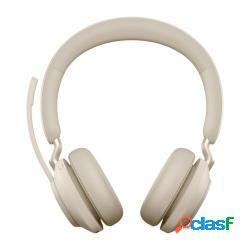 Jabra evolve2 65 uc stereo cuffia padiglione auricolare usb tipo-c bluetooth beige - jabra - 26599-989-998