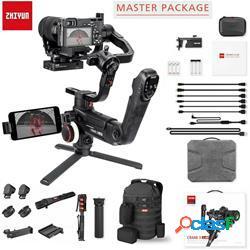 Supporto video zhiyun crane 3 lab handheld gimbal (master) - zhiyun
