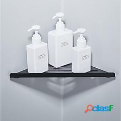 Mensola triangolare per bagno multifunzione mensola angolare da parete in acciaio inox 1 confezione per bagno, toilette e cucina lightinthebox