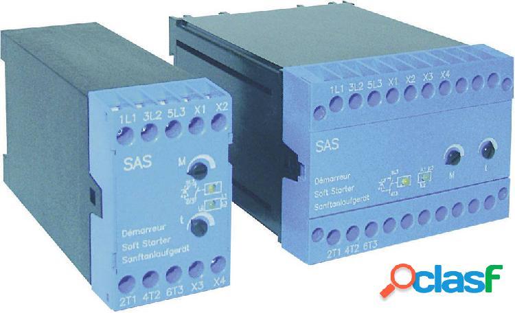 Avviatore soft starter peter electronic potenza motore a 400 v 7.5 kw potenza motore a 230 v 4 kw 400 v/ac corrente nominale 16 a sas 7,5