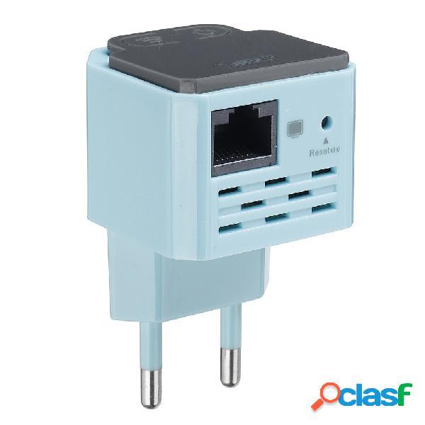 [eu] mini ripetitore wifi amplificatore di segnale wifi (blu)