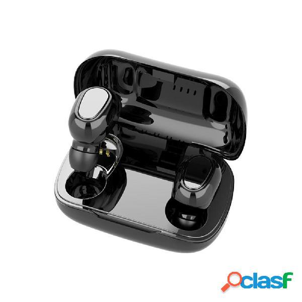 [eu] auricolari wireless stereo bluetooth (nero)