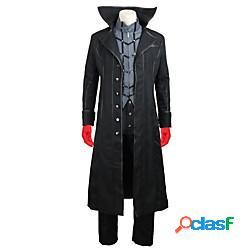 Ispirato da persona 5 joker ren amamiya / akira kurusu anime costumi cosplay giapponese abiti cosplay altro manica lunga cappotto camicia pantaloni per per uomo per donna / guanti / guanti mi
