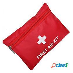Kit di pronto soccorso portatile pronto soccorso nylon campeggio e hiking rosso 1 pcs miniinthebox