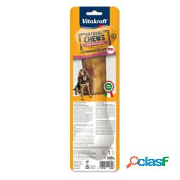 Masticativi natural chews - gusto prosciutto italiano - misura l - vitakraft (unit vendita 1 pz.)