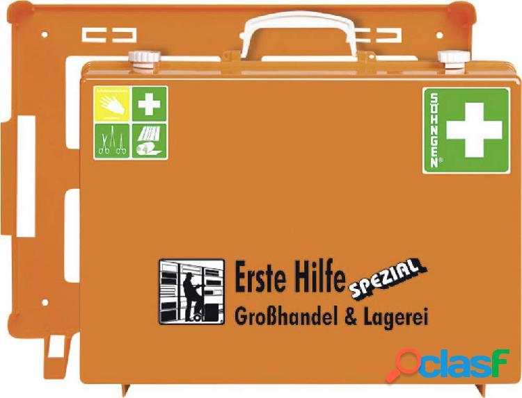 Söhngen 0360127 kit primo soccorso in valigetta ingrosso & magazzini din 13 157 + estensioni