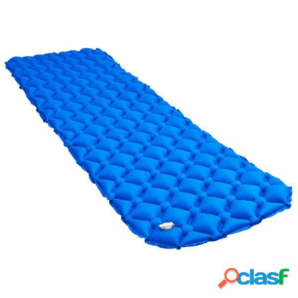 Vidaxl materasso gonfiabile ad aria 58x190 cm blu