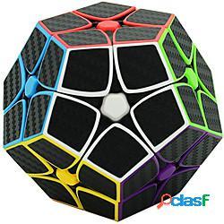 Zcube 2x2 megaminx speed cube 2x2x2 fibra di carbonio megaminx magic cube pentagonale dodecaedro cubo puzzle giocattolo rompicapo per bambini e adulti miniinthebox
