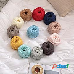 Cuscino in stile pura lana grossa in cotone cuscino include fodera del cuscino soggiorno camera da letto divano cuscino fodera miniinthebox