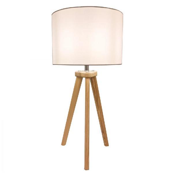 Lampada da tavolo in stile nordico in legno moddy