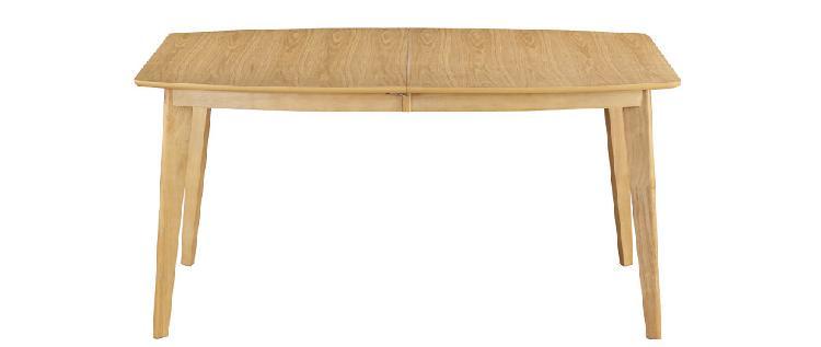 Tavolo da pranzo allungabile scandinavo in legno chiaro