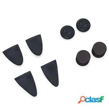 Ps5 controller trigger and analog stick grips - black